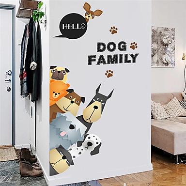 מדבקות למקרר - מדבקות קיר חיות משרד / פנימי