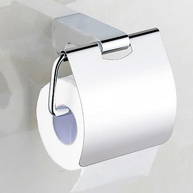מחזיק נייר טואלט יצירתי עכשווי פלדת אל חלד / ברזל 1pc מותקן על הקיר