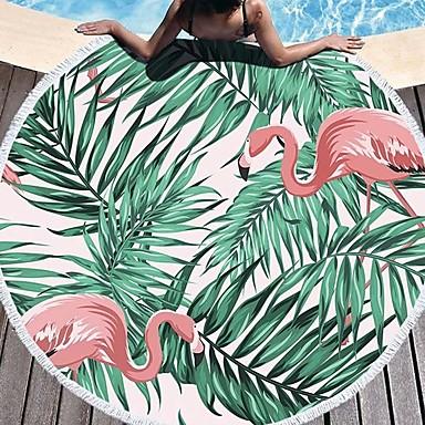 איכות מעולה מגבת חוף, פרחוני  בוטני 100% פוליאסטר 1 pcs