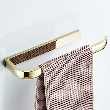 מתלה מגבת עיצוב חדש עכשווי / מודרני פליז 1pc - חדר אמבטיה / אמבטיה מותקן על הקיר
