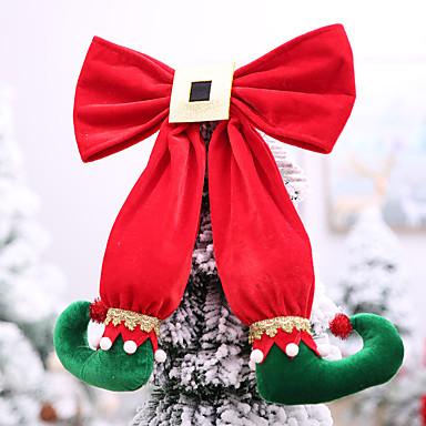 povoljno Holiday Decorations-stolica cover obiteljski pravokutni novost božićni ukras