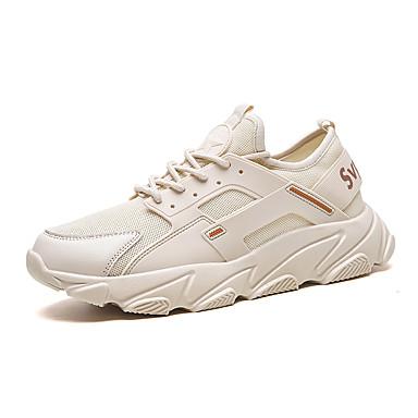 Erkek Ayakkabı Örümcek Ağı Yaz Sportif / Günlük Atletik Ayakkabılar Koşu / Yürüyüş Günlük / Dış mekan için Siyah / Beyaz / Kırmzı