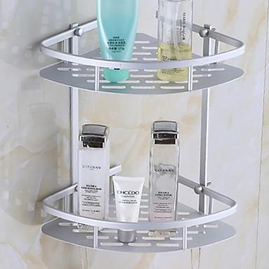 Banyo Rafı Yeni Dizayn Modern Aluminyum 1pc - Banyo Duvara Monte Edilmiş