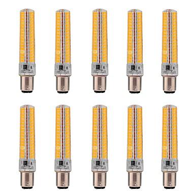 Χαμηλού Κόστους Λάμπες-10pcs 5 W LED Λάμπες Καλαμπόκι 1000-1200 lm BA15D T 136 LED χάντρες SMD 5730 Με ροοστάτη Διακοσμητικό Θερμό Λευκό Ψυχρό Λευκό 220 V 110 V