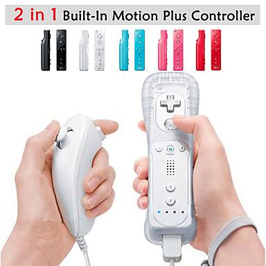 povoljno Oprema za igrice-Bez žice Igra kontroler Za Wii U / Wii ,  Wii MotionPlus Igra kontroler Metal / ABS 1 pcs jedinica