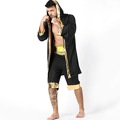 Güreşçi Kostüm Erkek International Cadılar Bayramı Performans Kostümler Erkek Dans kostümleri Polyester Malzeme Kombini
