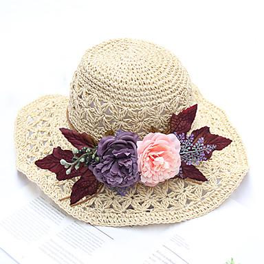 abordables Coiffes-Tulle / Organza Chapeaux / Coiffure avec Fleur en Satin / Creuse / Fleur 1 Pièce Mariage / De plein air Casque