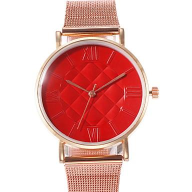 baratos Relógios Homem-Mulheres Relógio Elegante Quartzo Relógio Casual Analógico Clássico - Preto Branco Vermelho