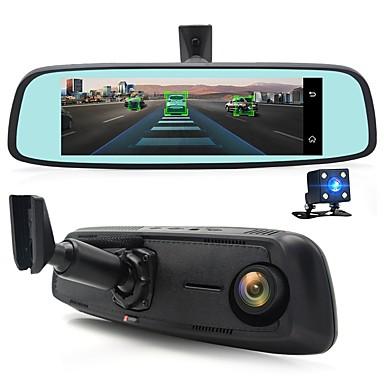 billige Bil-DVR-junsun k755 spesial 4g lte bil kamera speil 7.84 android adas gps dvr registrar dash cam videoopptaker med to kameraer