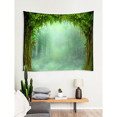 Kukkais-teema / Satu-teema Wall Decor 100% polyesteri Klassinen / Moderni Wall Art, Seinävaatteet Koriste