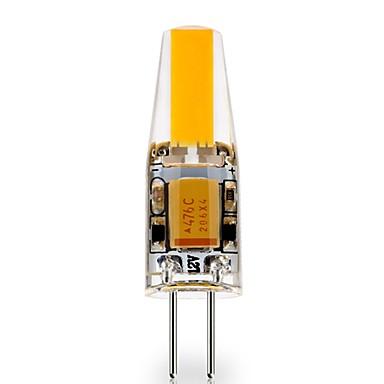 billige Elpærer-1pc 3 W LED-lamper med G-sokkel 290 lm G4 1 LED perler COB Dekorativ Smuk Varm hvit Kjølig hvit 12 V