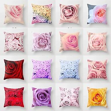 billige Putevar-ny blomstring pute tilfelle blomstret pute dekke sofa dekorative pute deksel for hjemmeinnredning 45x45cm