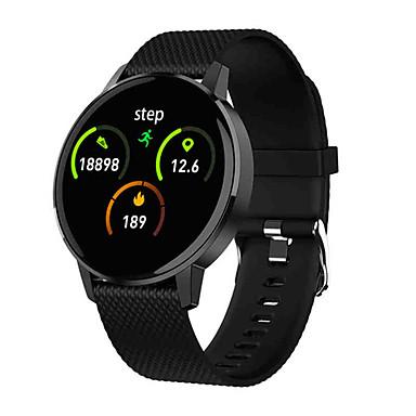 baratos Relógios Homem-T4 mulheres homens relógio inteligente monitor de pressão arterial de freqüência cardíaca relógio do esporte da moda rastreador de fitness para android ou ios