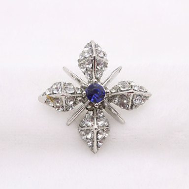 b5571a269 Women's Brooches Retro Flower Shape Cute Brooch Jewelry Gold Silver For  Party Daily Festival