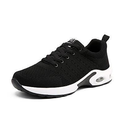 Erkek Ayakkabı Suni Deri / PU İlkbahar yaz Günlük / Çin Stili Atletik Ayakkabılar Bisiklet / Yürüyüş Bootiler / Bilek Botları Günlük / Dış mekan için Dikişli Dantel / Kurdele Bağcık / Püsküllü Siyah