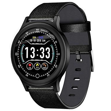 baratos Relógios Homem-Homens Relógio Esportivo Digital Estilo Moderno Esportivo Silicone 30 m Bluetooth Smart Calendário Digital Ao ar Livre Fashion - Preto Prata Prata / Black