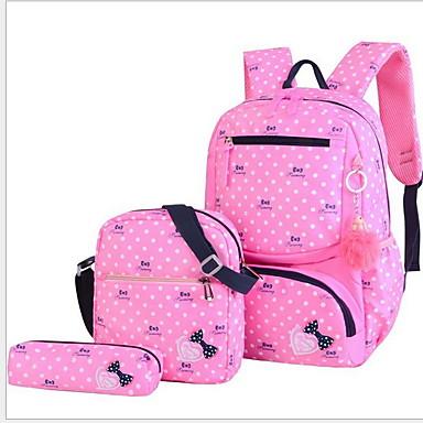 baratos Super Ofertas-Mulheres Ziper PU Conjuntos de saco Estampa Geométrica 3 Pcs Purse Set Rosa / Azul Escuro / Roxo