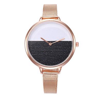 baratos Relógios Homem-Mulheres Relógio Elegante Quartzo Adorável Analógico Minimalista - Preto Vermelho Azul