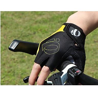 billige Sykkelhansker-Sykkelhansker Mountainbike-hansker Polstret Anti-Skli Støtsikker Beskyttende Halv Finger Aktivitets- / Sportshansker Silikongel Fjellsykling Gul Rød Blå til Voksne Trening Treningsøkt