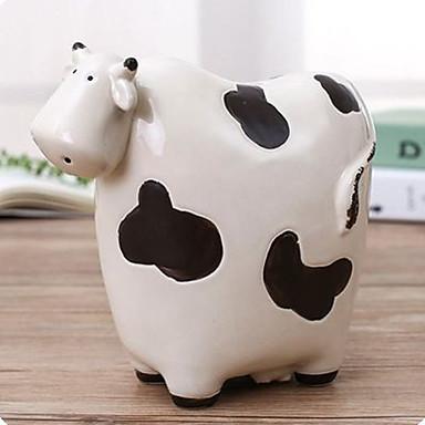 povoljno Nove igračke-Coin Bank Cow Crtići Slatko PVC (Polyvinylchlorid) 1 pcs Dječji Tinejdžer Dječaci Djevojčice Igračke za kućne ljubimce Poklon