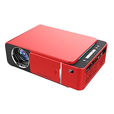 billige Projektorer-t6 full HD led projektor 4k 3500 lumen hdmi usb 1080p bærbar kino proyector beamer med mystisk gave