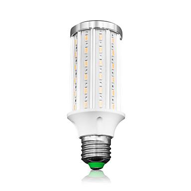 abordables Ampoules électriques-loende e27 a mené la lumière de maïs 20w ac85-265v 72leds smd5730 2000lm a mené la lampe blanche / blanche chaude