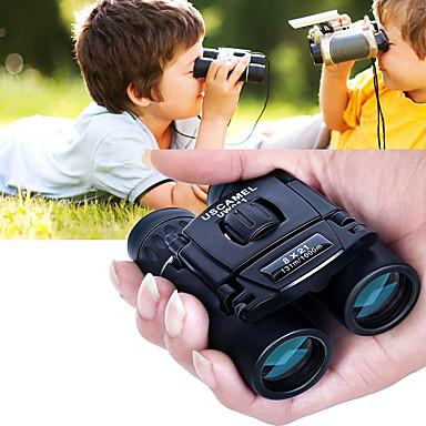 cheap Binoculars, Monoculars & Telescopes-8 X 21 mm Binoculars Porro Waterproof Portable Night Vision in Low Light Fully Multi-coated BAK4 Camping / Hiking Hunting and Fishing Traveling Night Vision / Bird watching