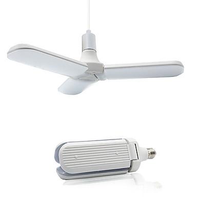 billige Elpærer-2pcs 45 W LED-globepærer 300 lm E26 / E27 228 LED perler SMD 2835 Nytt Design Varm hvit Hvit 90-265 V