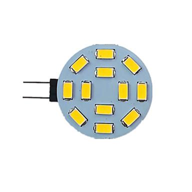 abordables Ampoules électriques-1pc 2.5 W LED à Double Broches 340 lm G4 12 Perles LED SMD 5730 9-30 V