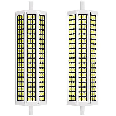 abordables Ampoules électriques-2pcs 20 W Ampoules Maïs LED 2000 lm R7S 162 Perles LED SMD 5733 Design nouveau Blanc Chaud Blanc 85-265 V