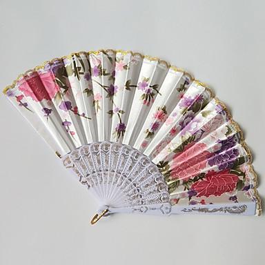 billige Vifter og parasoller-Håndvifter Plast Kombination Bryllup