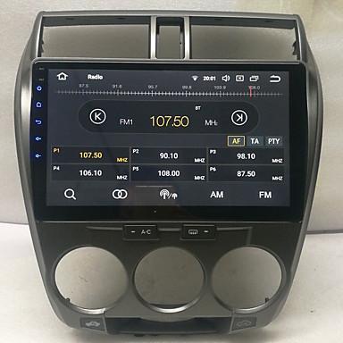 voordelige Automatisch Electronica-10.2 inch Android 8.0 2G 16G Quad Core GPS Navigator touchscreen Auto MP5-speler voor Honda City 2008-2012
