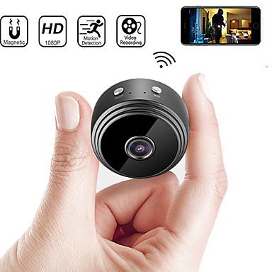 billige Sikkerhet og overvåkning-a9 ip kamera sikkerhet kamera mini kamera dv wifi mikro lite kamera videokamera videoopptaker utendørs nattversjon hjemmeovervåking hd trådløs fjernovervåkning telefon os android app 1080p
