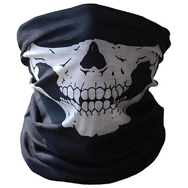 Cadılar bayramı kafatası maskeleri açık motosiklet bisiklet çok fonksiyonlu boyun sıcak