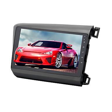 voordelige Automatisch Electronica-9 inch Android 8.0 1din 4 GB 32 GB Auto GPS Navigator Touchscreen Auto Multimedia DVD Speler voor Honda Civic 2012-2014