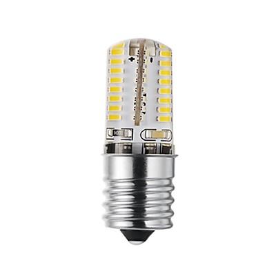 abordables Ampoules électriques-1pc 3 W Ampoules Maïs LED 170-200 lm E17 72 Perles LED SMD 3014 Design nouveau Décorative Adorable Blanc Chaud Blanc Froid 12-24 V