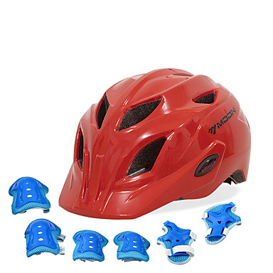 billige Hjelmer-Barne sykkelhjelm BMX Hjelm 28 Ventiler EPS ABS + PC sport Utendørs Trening Sykling / Sykkel - Himmelblå Fuksia Rød Unisex