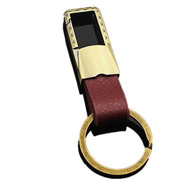voordelige Auto-interieur accessoires-mode metalen mannen lederen auto sleutelhanger sleutelhanger cover ketting