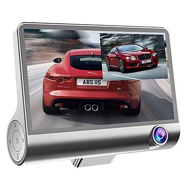 billige Bil-DVR-bil dvr kamera videoopptaker bakfra auto registrator med dobbelt 1080p kameraer dash cam