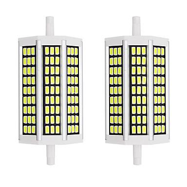abordables Ampoules électriques-2pcs 10 W Ampoules Maïs LED 1000 lm R7S 81 Perles LED SMD 5733 Design nouveau Blanc Chaud Blanc 85-265 V