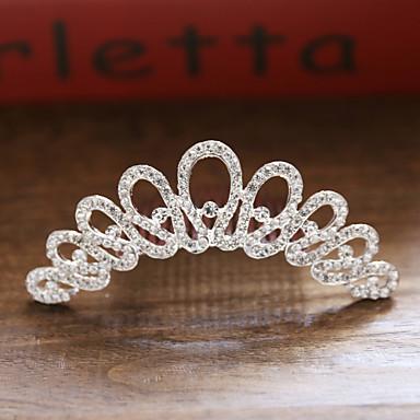 voordelige Dames Sieraden-Dames Bruids Prinses Legering kleine diamant Haarkammen Bruiloft