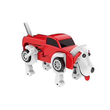 Igračka na navijanje transformabilan Fokus igračka Lijep Psi Automobil Komadi Djeca Dječji Sve Igračke za kućne ljubimce Poklon / Interakcija roditelja i djece