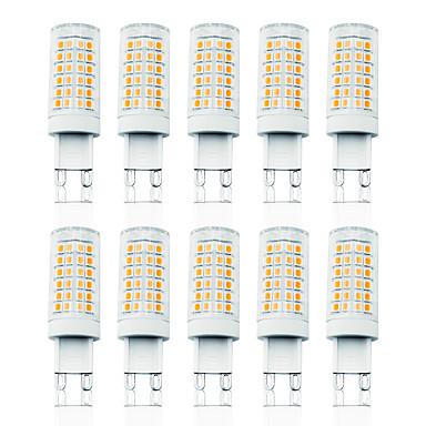 billige Elpærer-LOENDE 10pcs 7 W LED-kornpærer LED-lamper med G-sokkel 800 lm G9 T 78 LED perler SMD 2835 Mulighet for demping Varm hvit Hvit 110-130 V 200-240 V
