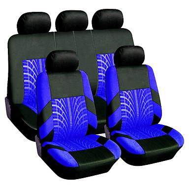 voordelige Auto-interieur accessoires-9 stks / set universele ademende autostoel cover auto-accessoires