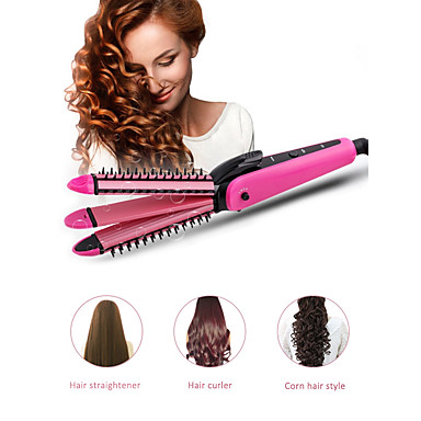 voordelige Haarverzorging-3in1 stijltang krultangen golfkarton styling tools
