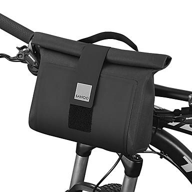abordables Sacoches de Vélo-2 L Sacoche de Guidon de Vélo Etanche Portable Vestimentaire Sac de Vélo TPU 1680D Polyester Sac de Cyclisme Sacoche de Vélo Cyclisme Activités Extérieures Vélo Cyclisme