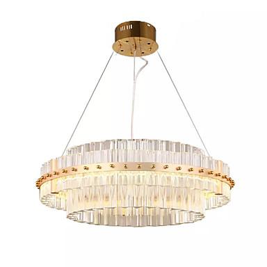 QIHengZhaoMing Lusteri Ambient Light Electroplated Metal 110-120V / 220-240V Meleg fehér