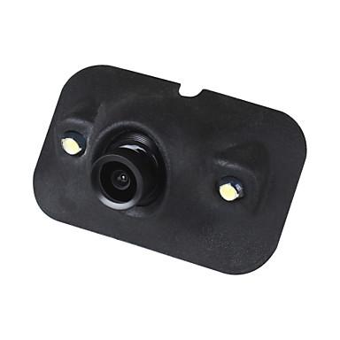 voordelige Automatisch Electronica-ziqiao mini ccd hd nachtzicht 360 graden auto achteruitrijcamera camera voorzijde vooraanzicht achteruitrijcamera 2 led