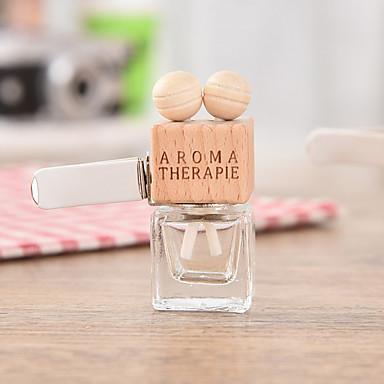voordelige Auto-interieur accessoires-6 ml luchtverfrisser ornament parfumflesje auto parfum clip fles (zonder etherische olie)