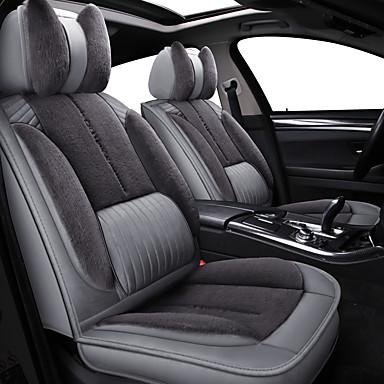 voordelige Auto-interieur accessoires-down auto kussen winter nieuwe pluche plant-down warme stoel zitbank set interieur benodigdheden